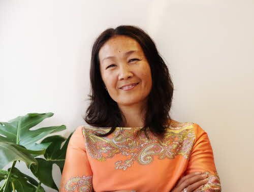 Porträttbild av mentor
