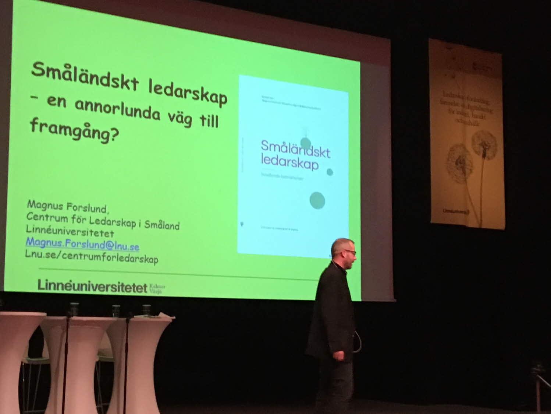 Magnus Forslund, forskare Linneuniversitetet