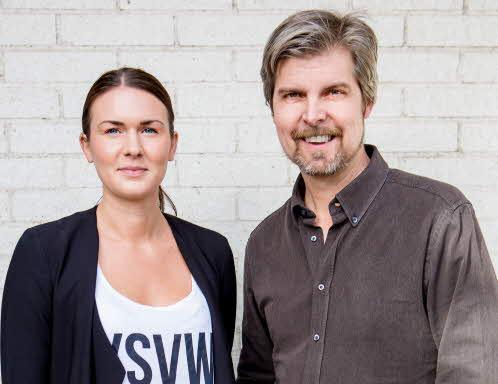 Cecilia Alm och Petter Bragée
