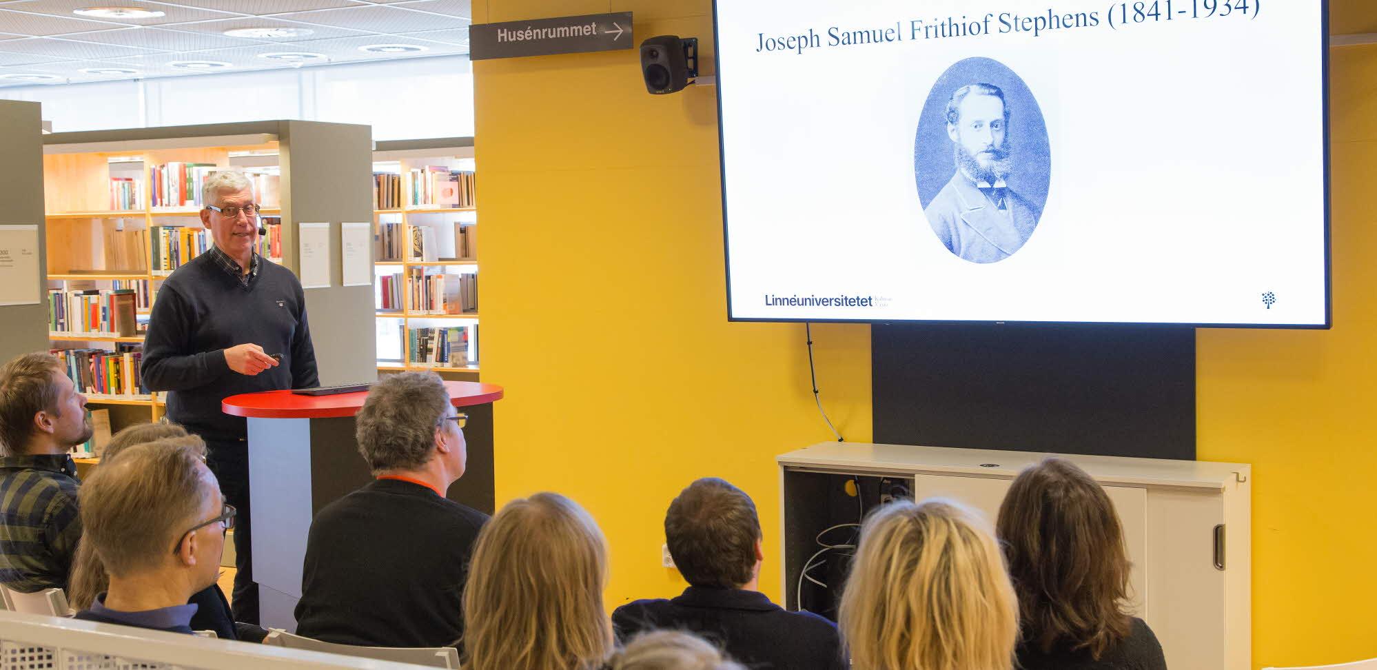 bild på öppen föreläsning