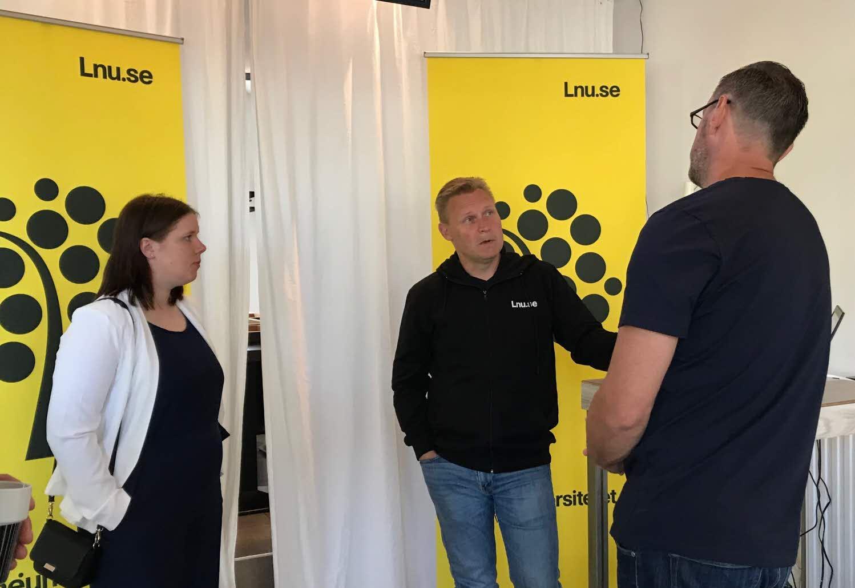 Hanna Persson, Ola Kronkvist och Kristian Haraldsson