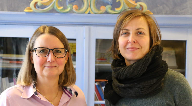 Kerstin och Jitka