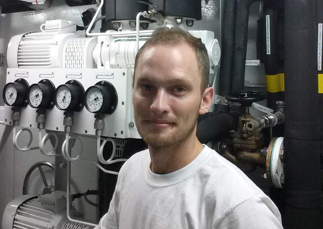 Martin i maskinrummet