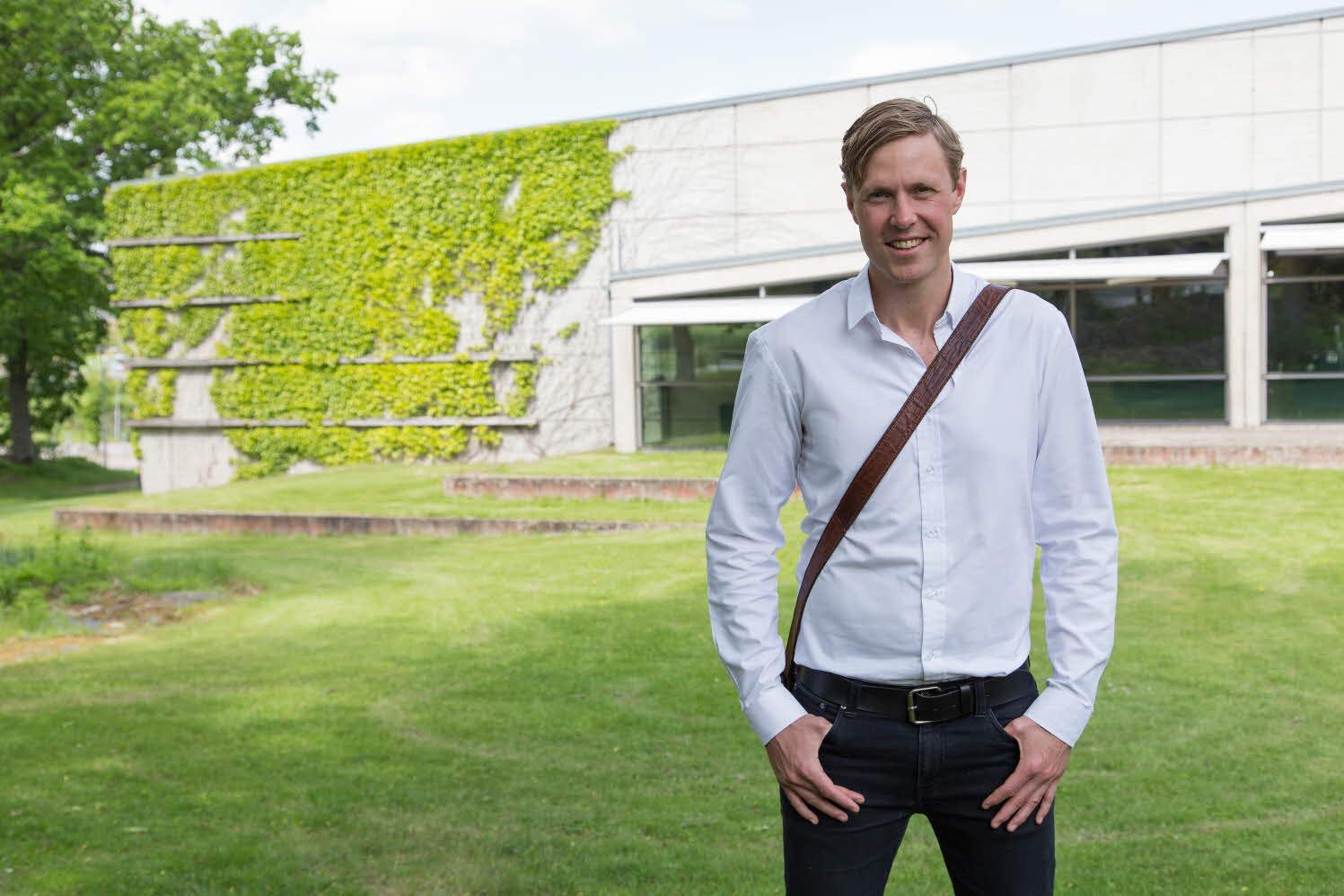 Porträtt Gustaf Möller