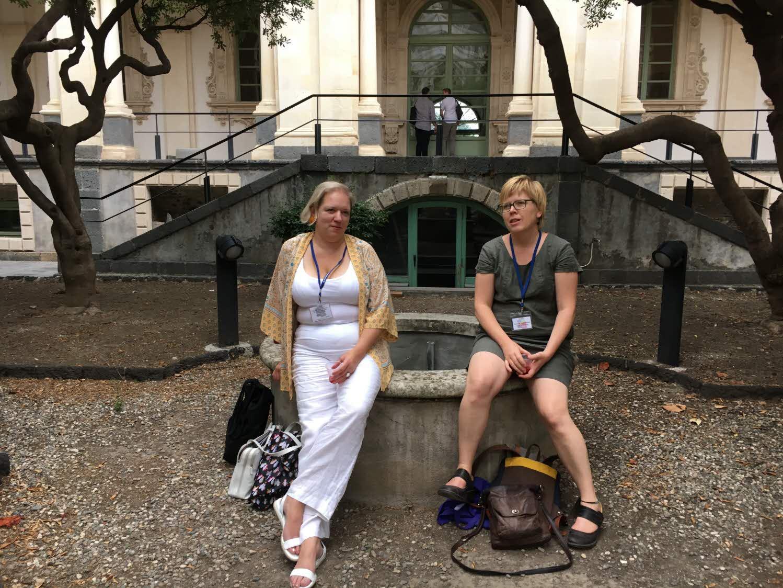 Två av projektets forskare