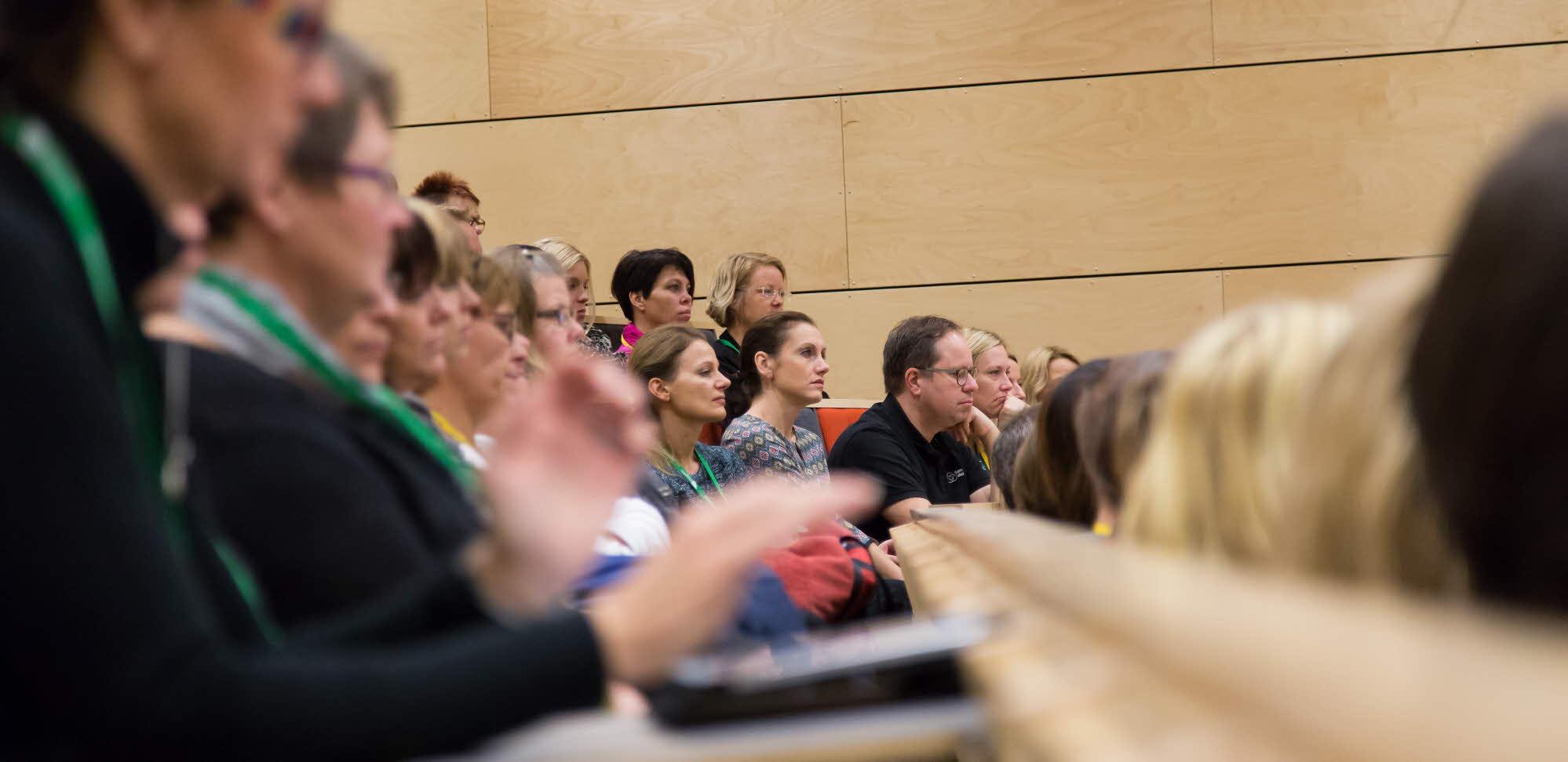 people at a seminar