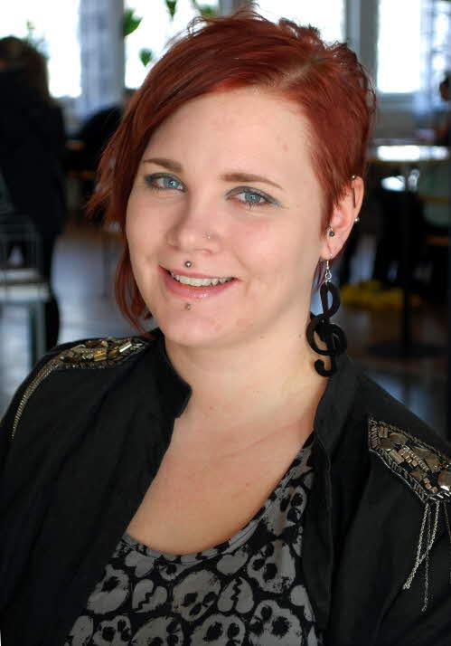 Hanna Lundberg är student på Music & Event Management