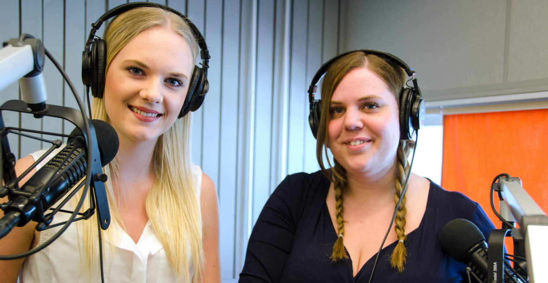 Amanda och Linnéa