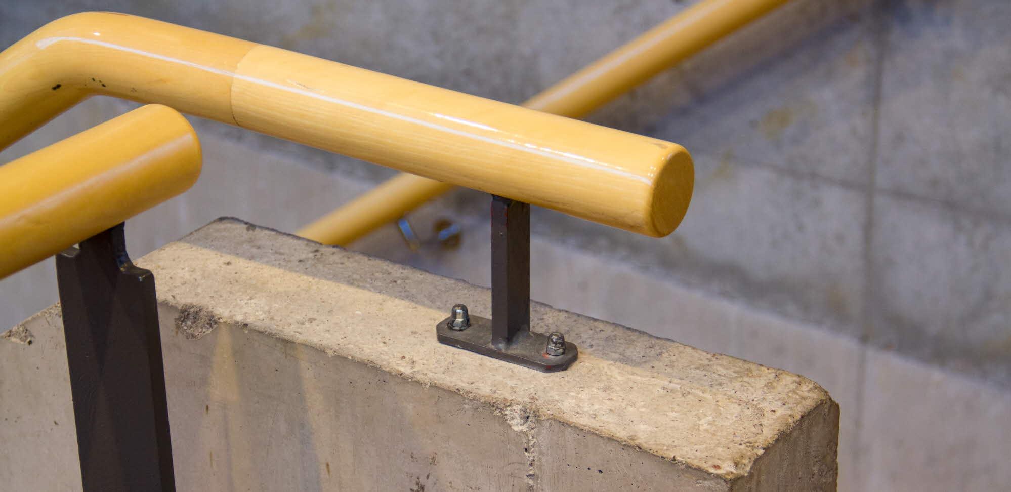 trä, betong och stål