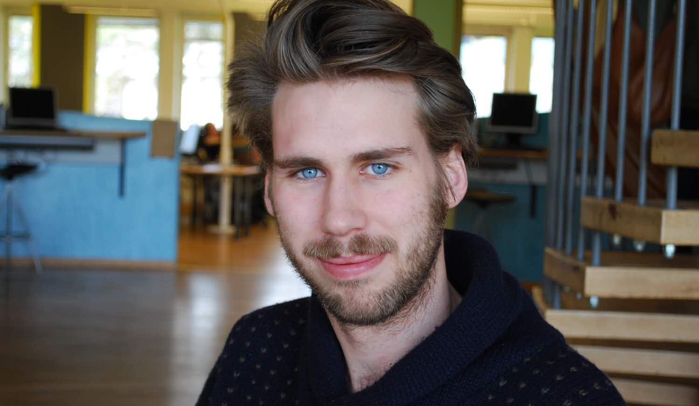 Björn Sjögren är student på Music & Event Management