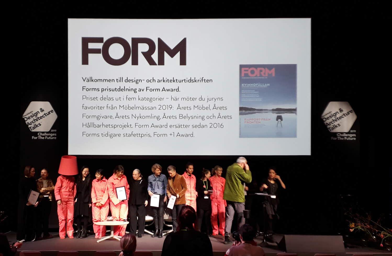 Designstudenter vinner pris på Stockholms Möbelmässa