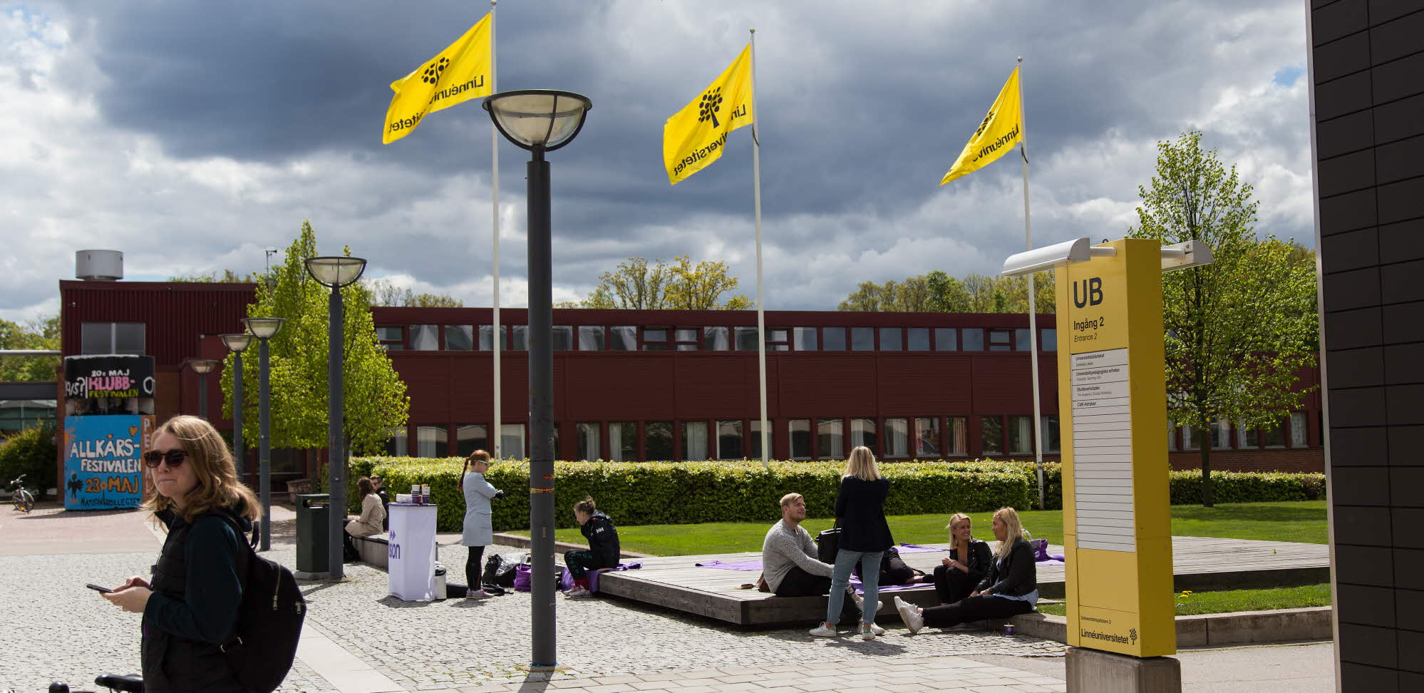 Linnéuniversitetets huvudbyggnad