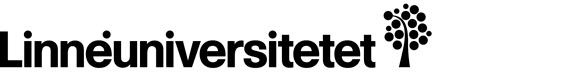 Linnéuniversitetets ordmärke + symbol